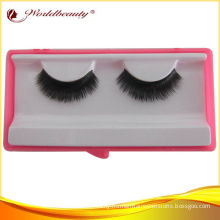 Dense Mink Fur Trip Natural False Eyelashes 100% Handmade L010